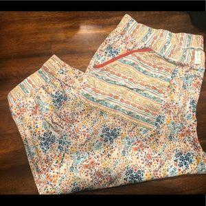 Cacique Pajama Capris